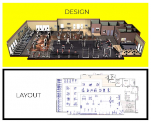 Modern Gym Designing Concepts and Services in Bangalore